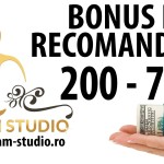 Bonus de recrutare - Dream Studio Videochat Bucuresti
